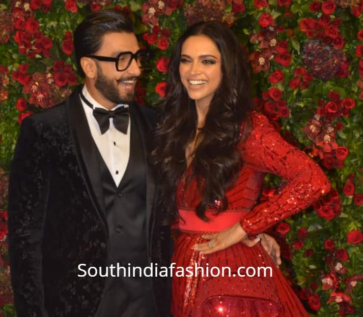 deepika padukone ranveer isngh wedding reception photos