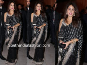 sagarika ghatge in black saree at isha ambani wedding reception