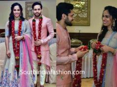 saina nehwal wedding photos