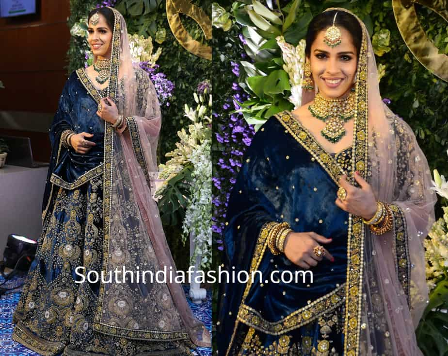 Saina Nehwal And Parupalli Kashyap S Wedding Reception