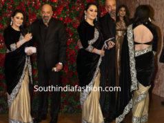 sanjay dutt manyata dutt deepika ranveer wedding reception