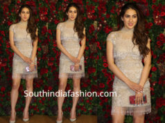 sara ali khan dress at deepika ranveer wedding reception