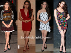 sara ali khan in mini dresses for simmba promotions