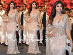 shilpa shetty lehenga at isha ambani wedding