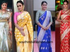 silk saree colors for a bride