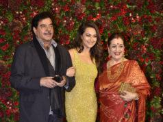 sonakshi sinha mother father deepika reception