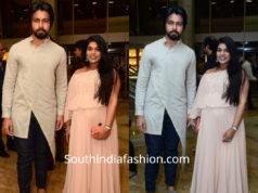 Sreeja konidela at saina nehwal wedding reception