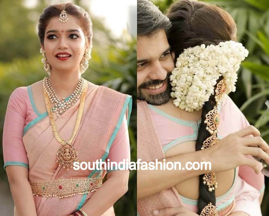 swathi wedding braid