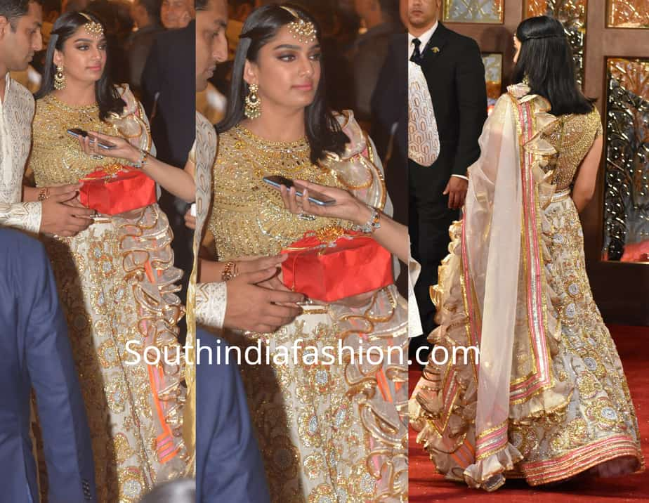 veena reddy at isha ambani wedding