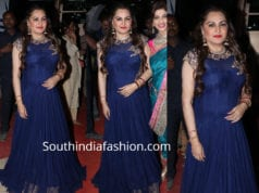 jayapradha blue gown