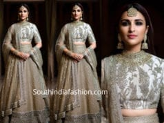 parineeti chopra lehenga at priyanka chopra wedding