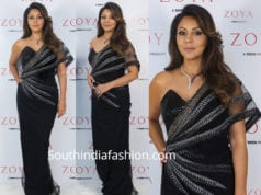 gauri khan in black saree gown at zoya store launch