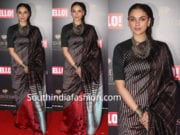 aditi rao hydari in payal khandwala saree
