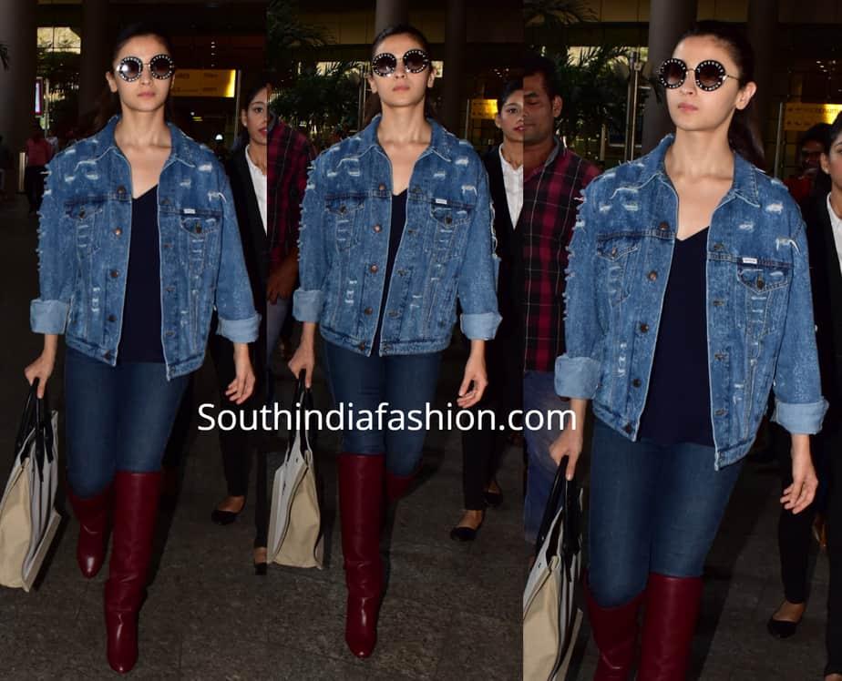 alia bhatt jeans and denim jacket