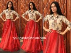 eee60c3cc6f5a6 Tamannaah Bhatia s Festive Look – South India Fashion