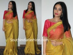 amrita rao yellow saree thackeray promotions