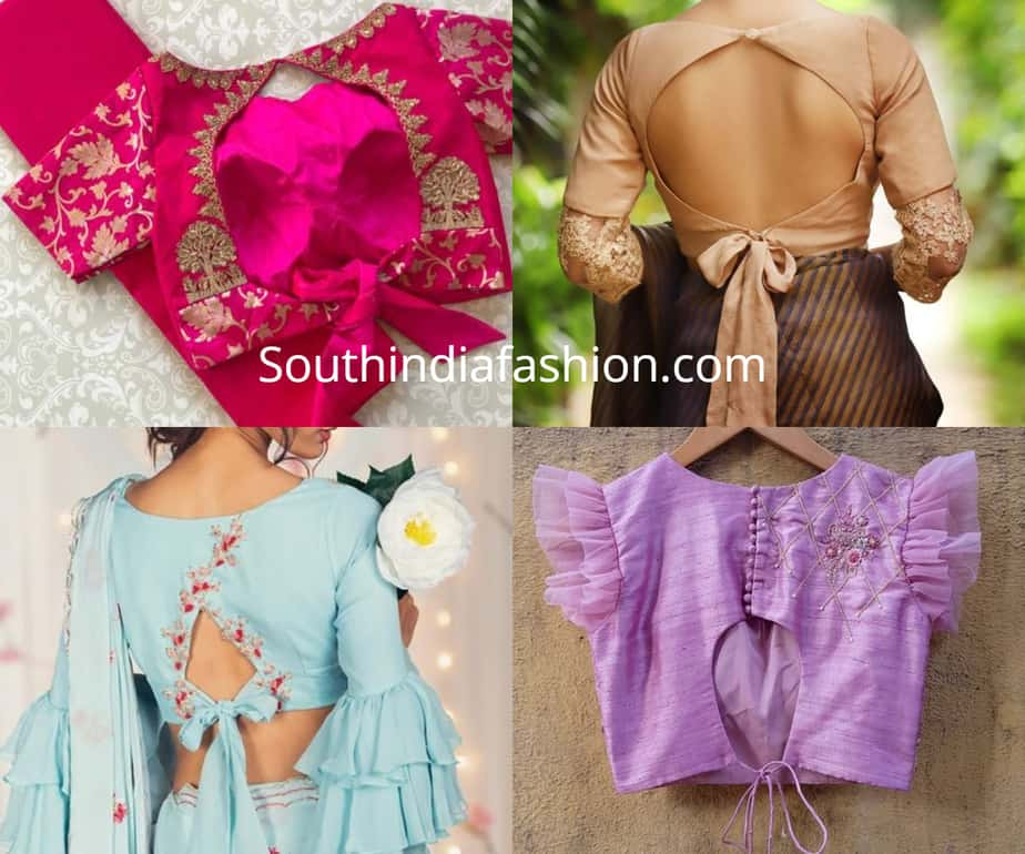 latest blouse designs 2019