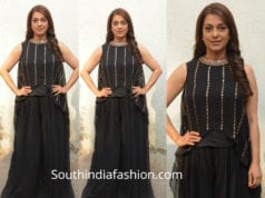 juhi chawla black dress