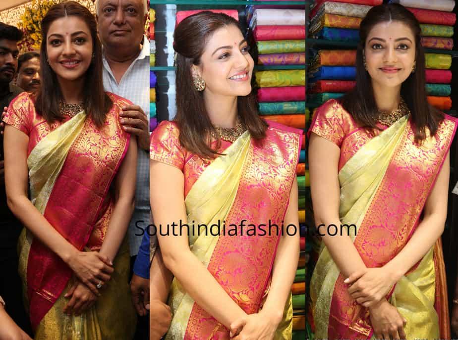 Kajal Aggarwal at Maangalya Shopping Mall Launch – South ...