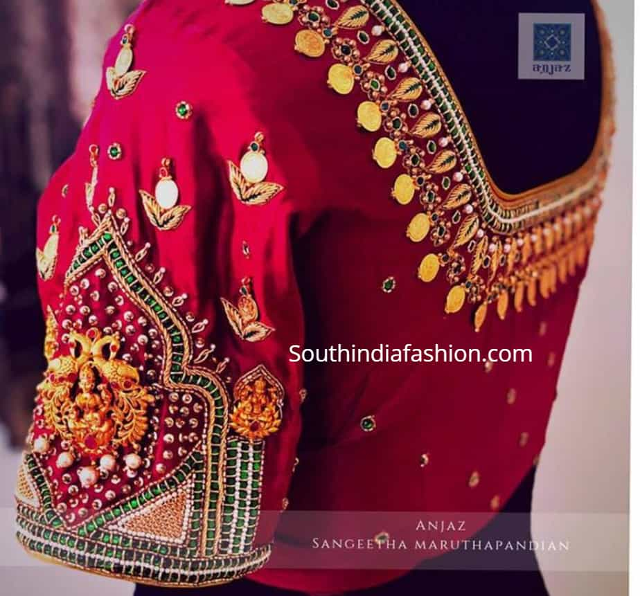 kasu blouse designs