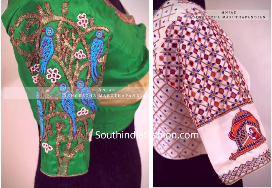 latest maggam work blouse designs 2019