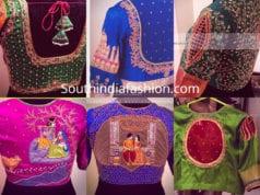 latest maggam work blouse designs 2019