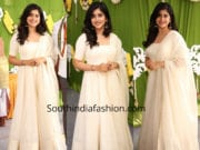 manisha raj in white anarkali
