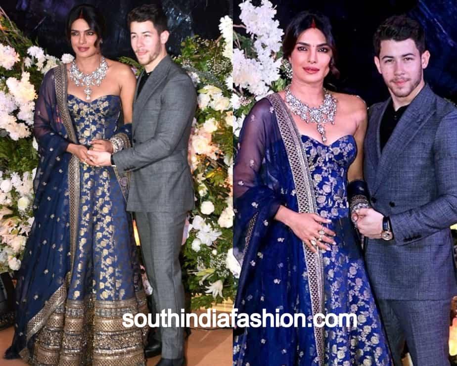 priyanka at Mumbai reception