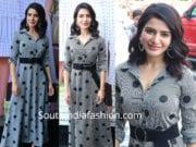 samantha akkineni in maxi dress at and store launch