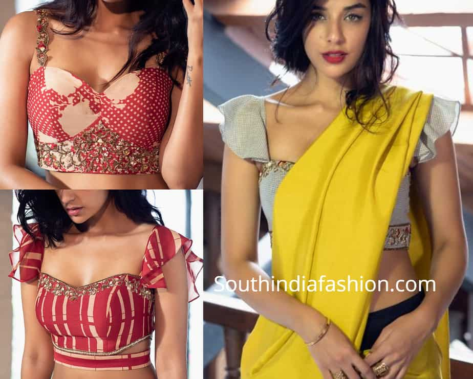 sexy blouse designs for sarees