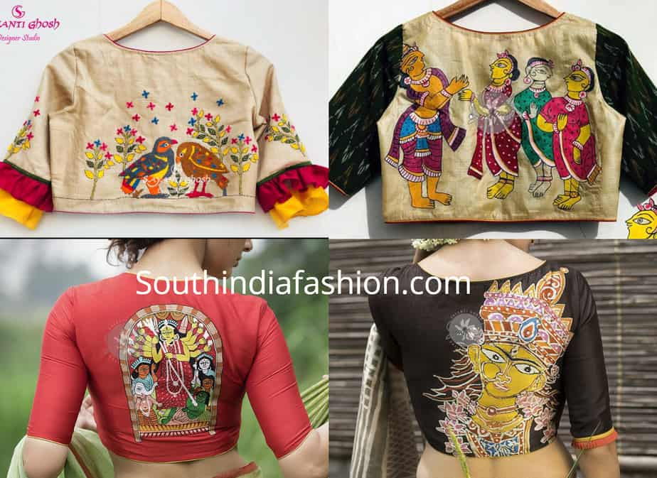 trendy saree blouse designs 2019