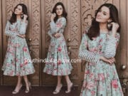taapsee pannu floral dress