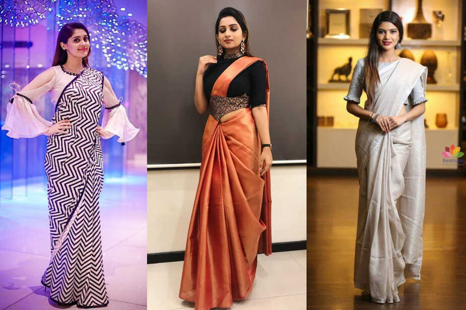how to look tall in sarees