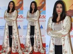 aishwarya rai bachchan in rohit bal jacket