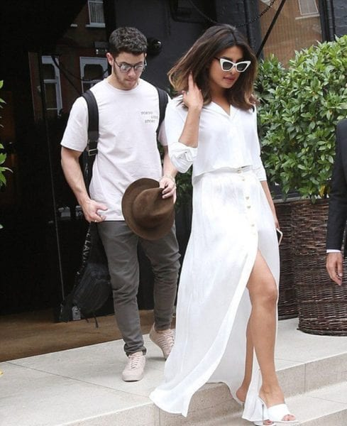 priyanka and nick matching outfits
