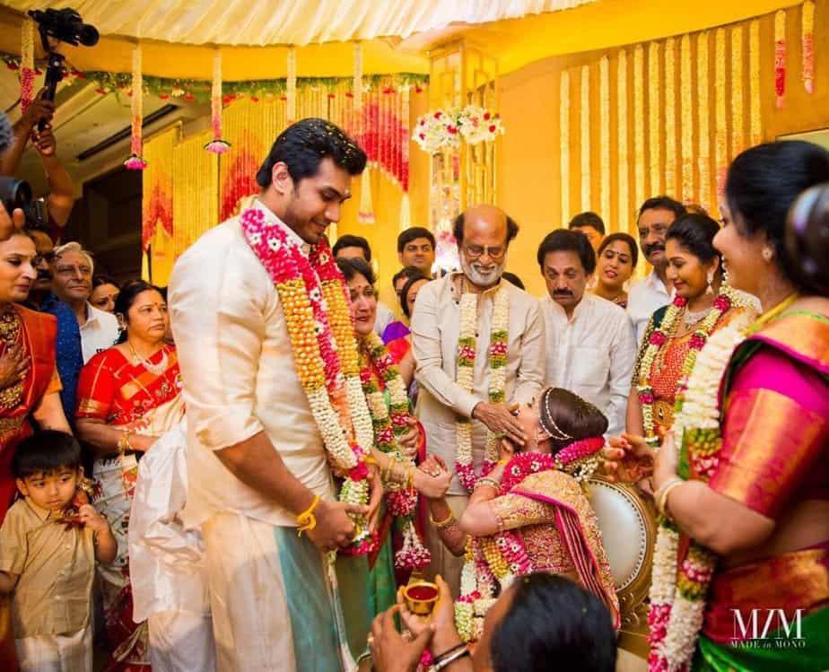 soundarya rajinikanth vishagan wedding