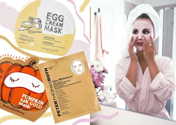 Sheet mask hydrates your skin