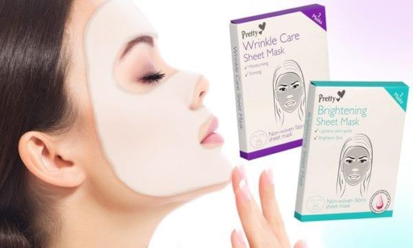 Sheet masks brighten your skin