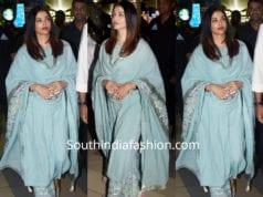 aishwarya rai in sukriti aakriti palazzo suit