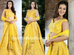 catherine tresa yellow lehenga