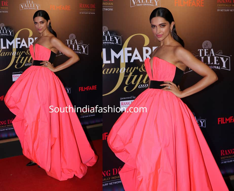 Deepika Padukone at the Filmfare Glamour and Style Awards ...
