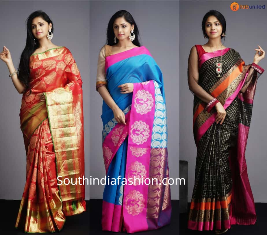 fab united silk sarees