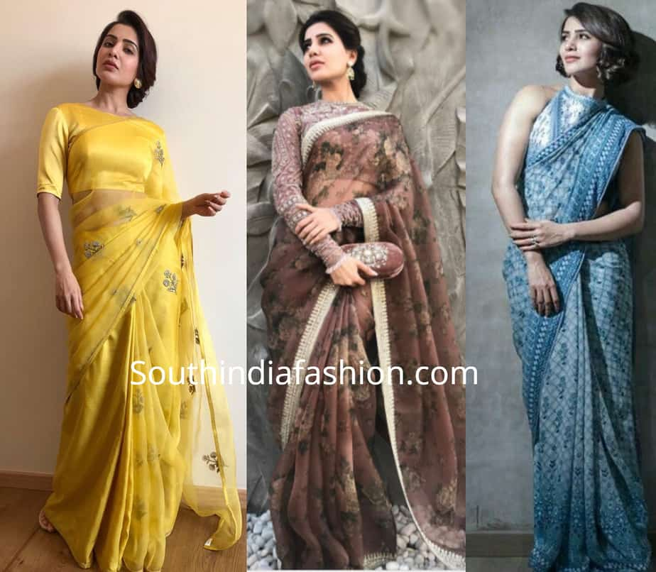 saree fabric for short height women