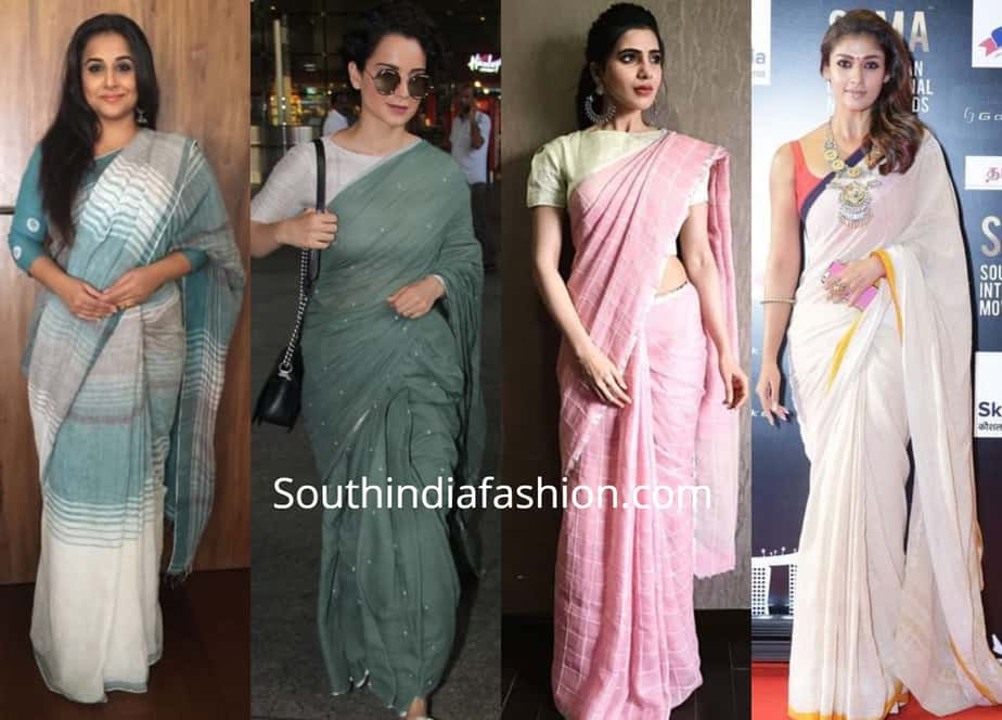 how to wash and maintain cotton sarees