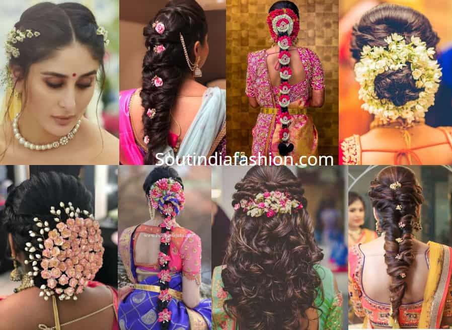 indian bridal hairstyles for weddings