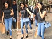 janhvi kapoor casual jeans