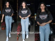 khushi kapoor in jeans