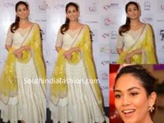 mira kapoor white skirt kurta at helping hands charity event