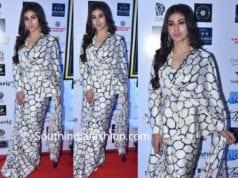 mouni roy printed saree dadasaheb phalke awards