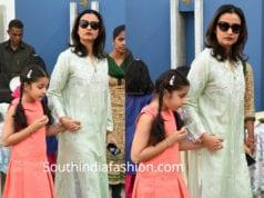 namrata sitara at Children's Ikebana Exhibition